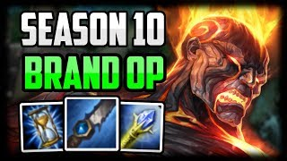 How to Play Brand in Season 10 for Beginners | Brand Jungle GUIDE - League of Legends