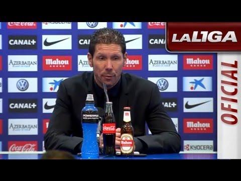 Rueda de Prensa de Simeone tras el Atlético de Madrid (1-0) Real Betis - HD