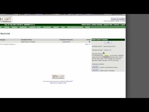 ZenCart - How to Customize Templates