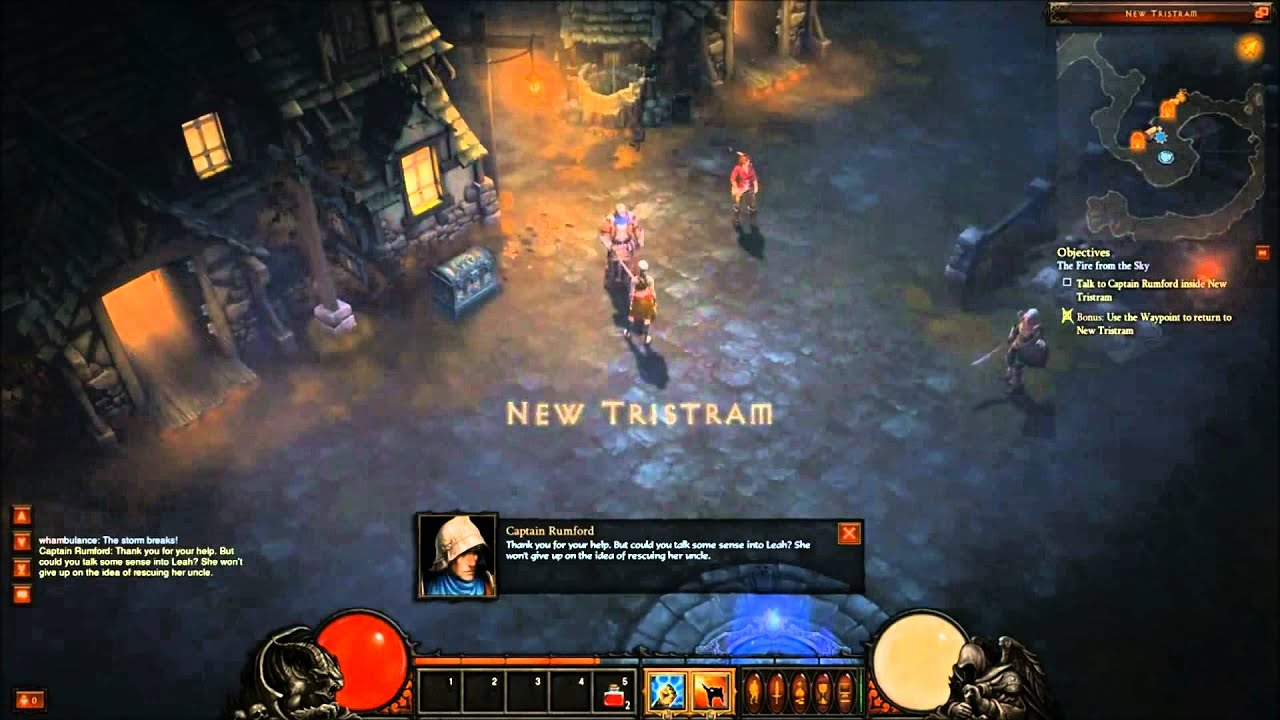 Diablo 3 Beta Gameplay Diablo 3 Beta Monk Gameplay.