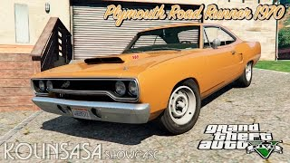 GTA 5 Plymouth Road Runner 1970 + Crash test