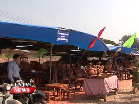 Lao NEWS on LNTV: A festival to promote tourism links in the central provinces kickes off.29/1/2015