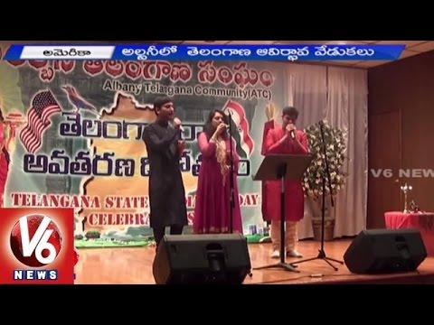Telangana State Formation Day Celebrations in Albany - America (01-07-2015)