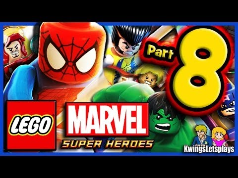 LEGO Marvel Super Heroes Walkthrough Part 8 X-MEN VS Juggernaut!