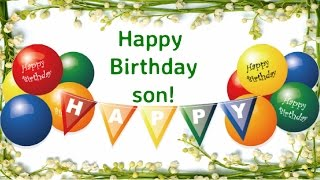 Happy Birthday Son || Son Birthday Wishes from Mom