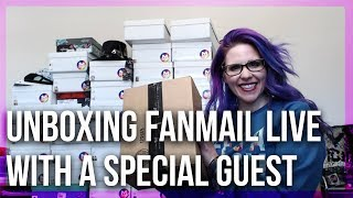 Unboxing Fan Mail - Marc Defang Heels With Michelle & A Special Guest - Live