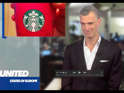 Why Starbucks Will Put Christmas Back: to Fight EU Tax.  'United States of Europe' 9 Nov. 2015