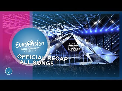 All 41 Songs Of The 2019 Eurovision Song Contest