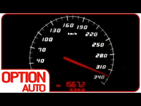 320 km/h en Lamborghini Gallardo LP 550-2 Valentino Balboni (Option Auto)