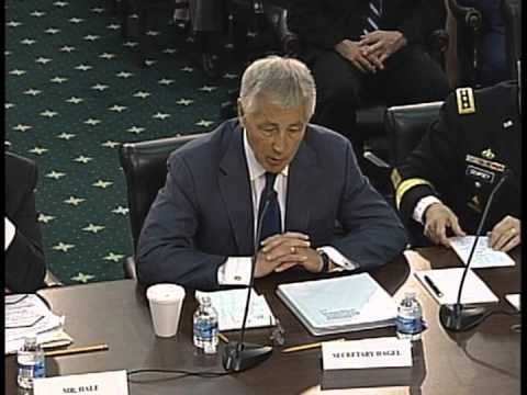 Frelinghuysen Questions Secretary of Defense Chuck Hagel
