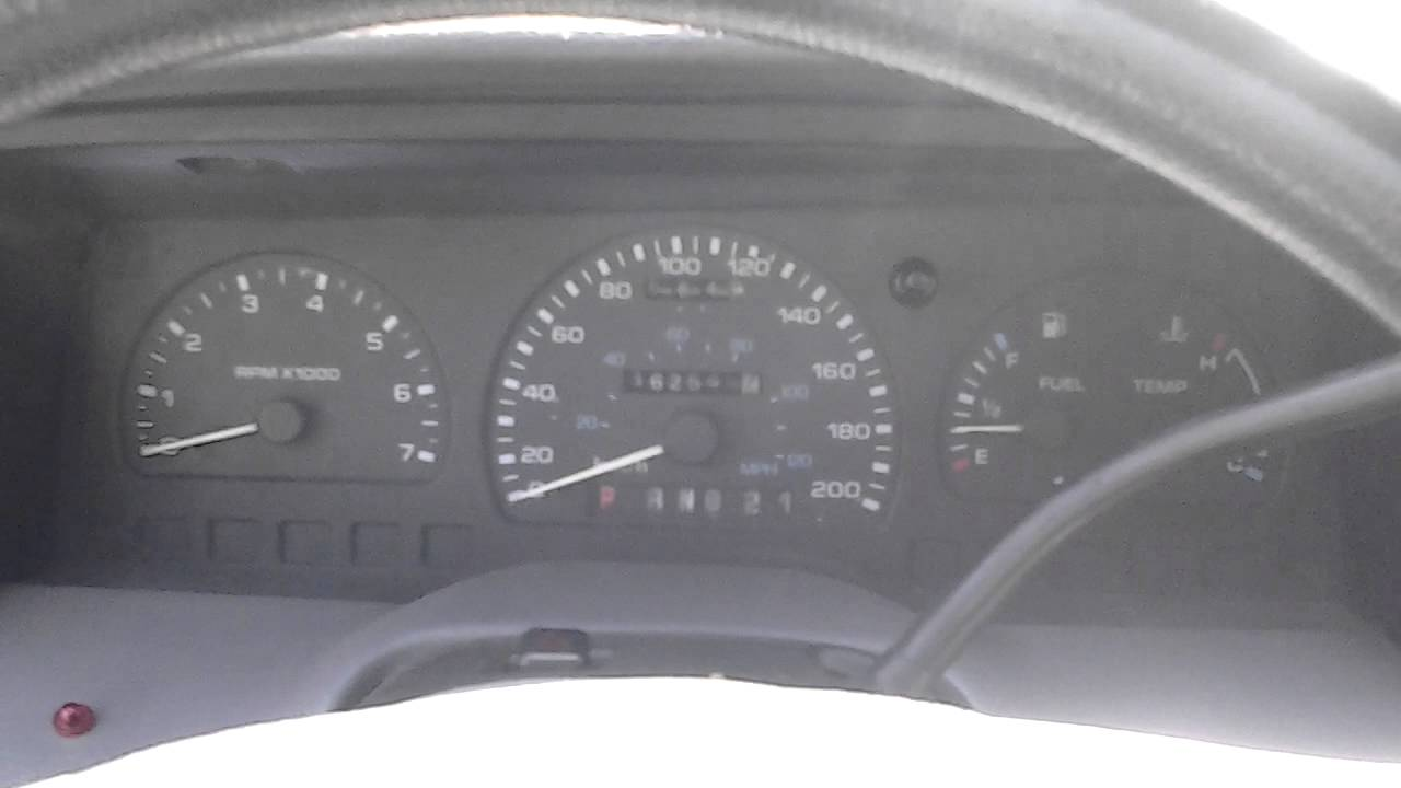 Falla Imposible Ford Windstar 97 Youtube