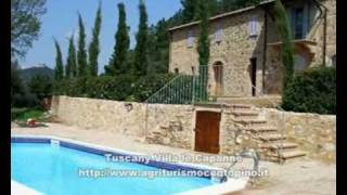 Tuscany Villa le Capanne with pool - TOSCANA