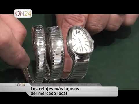 Los relojes mas lujosos del mercado local