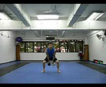 Kettlebell lift: Jerk Image 1