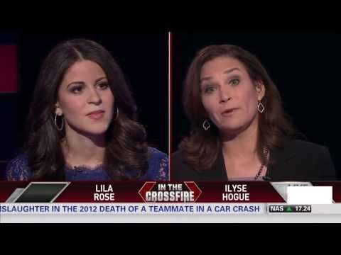 Lila Rose and Ilyse Hogue debate abortion on CNN Crossfire