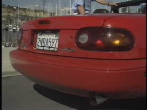 Top Gear 1989 - Mazda MX-5 Miata review