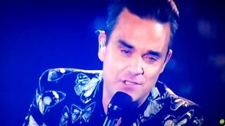 Love My Life - Robbie Williams en Los40 Music Awards