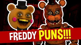 Five Nights at Freddy's Puns and Jokes! (Annoying Orange FNAF)