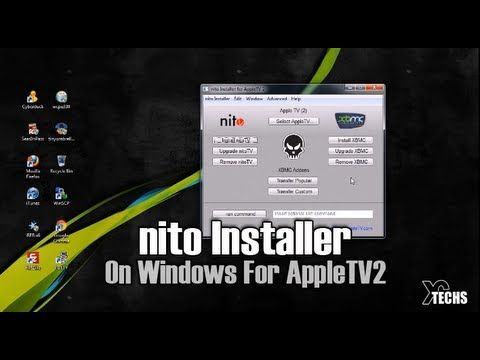 Nito Installer On Windows For AppleTV2