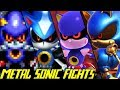 Evolution of Metal Sonic Battles (1993-2017)