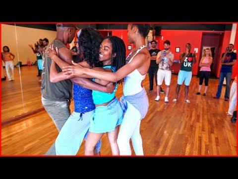 Lambada Dance by Gilson Damasco at Zouk Atlanta Featuring Ashley Daye & Ebonie Lee & Aylen Giselle
