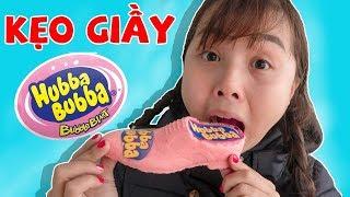 Lớp Học Nhí Nhố - Trò Chơi Ăn Kẹo Hubba Bubba Hình Chiếc Giầy ❤ Chị Hằng TV