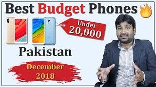 Best Budget Phones Under 20000 in Pakistan - December 2018