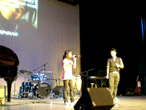 Eva Sabiniano &amp; Timmy Pavino singing &quot;The Gift&quot;