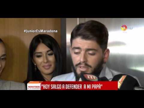 Diego Maradona Jr.: Algún día Dios se encargará de lo que pasa con Dalma y Gianinna