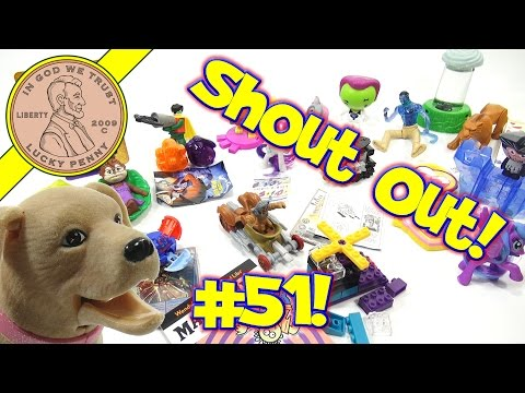 Shout-Out Time! (Video #51) Butch and LPS-Dave Open Happy Meal Toys & Play Mad Libs!