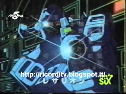 Sigla Cartone Animato LASERION Da SuperSix Antenna5