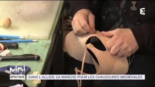 FEUILLETON : Dans l'Allier, ça marche pour les chaussures médiévales