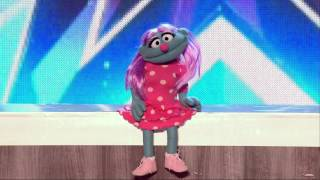Britain's Got Talent S08E04 Patsy Can Do It All Muppet Comedy Act