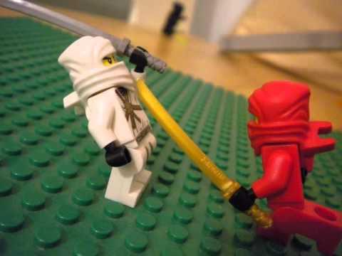 Lego Ninjago Kai Vs Zane YouTube
