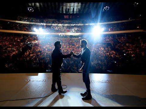"""Juan Gabriel con David Bisbal """"Yo te bendigo mi amor"""""""