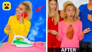 Outfit Hacks That Save Your Life! DIY Life Hacks Girl and More