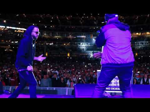 50 Cent Surprise Appearance @Citi Field with Wisin Y Yandel | Live Performance | 50 Cent Music