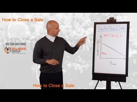 How to Close a Sale - 5 Reasons Clients Don
