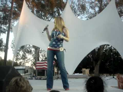 Brandi A. Crippen singing Cowgirl Next Door by Ladd Smith