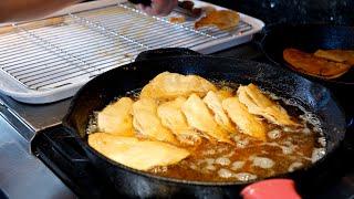 Golden Crispy Deep Fried Potato TACOS   Tacos de Papa   Views Taco Tuesday Oh, yeah!