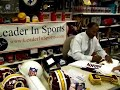 Charles Mann Washington Redskins Autograph Event