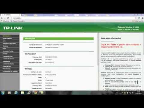 tutorial mudar senhas wi-fi e do roteador tp link TL WR740N
