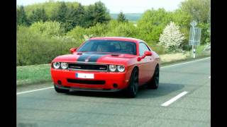 modified Dodge Challenger SRT8 driving scenes!!!!