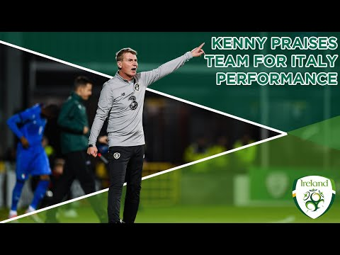 #IRLU21 INTERVIEW | Stephen Kenny praises team effort following draw with Italy
