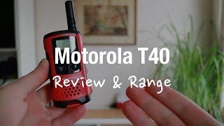 Motorola TLKR T40 - PMR Radios (Review and Range Test)