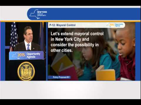Governor Cuomo Presents 2015 Opportunity Agenda