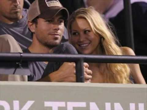 Enrique Iglesias &Anna Kournikova  & Your'e my number one