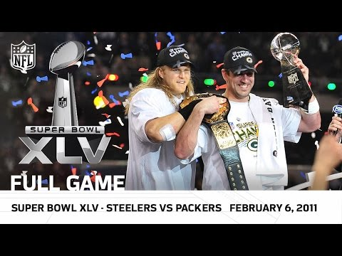 Super Bowl Xlv Packers Vs Steelers Nfl Full Game