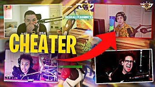 CLOAKZY CAUGHT CHEATING?! BEST SQUAD GAMES EVER! (Fortnite: Battle Royale)