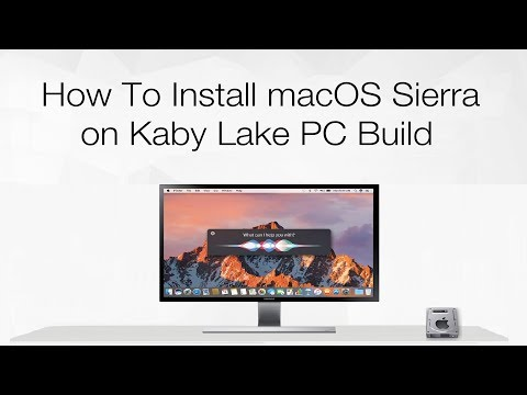 How to Install macOS Sierra on Kaby Lake PC Build | Hackintosh | Step By Step